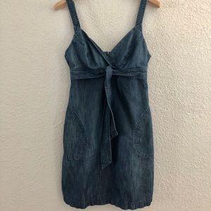 Denim Dress - Anthropology